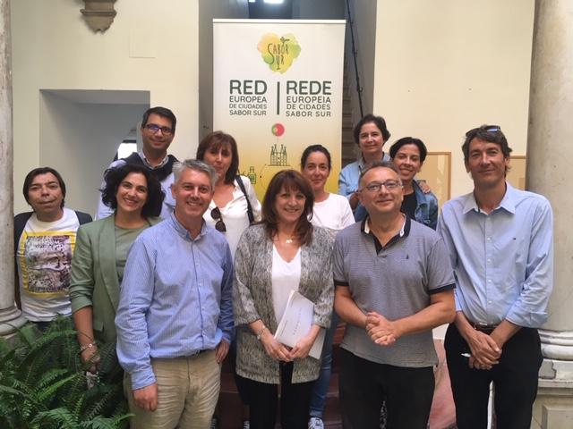 Los socios de Sabor Sur definen el futuro de la Red Europea de Ciudades