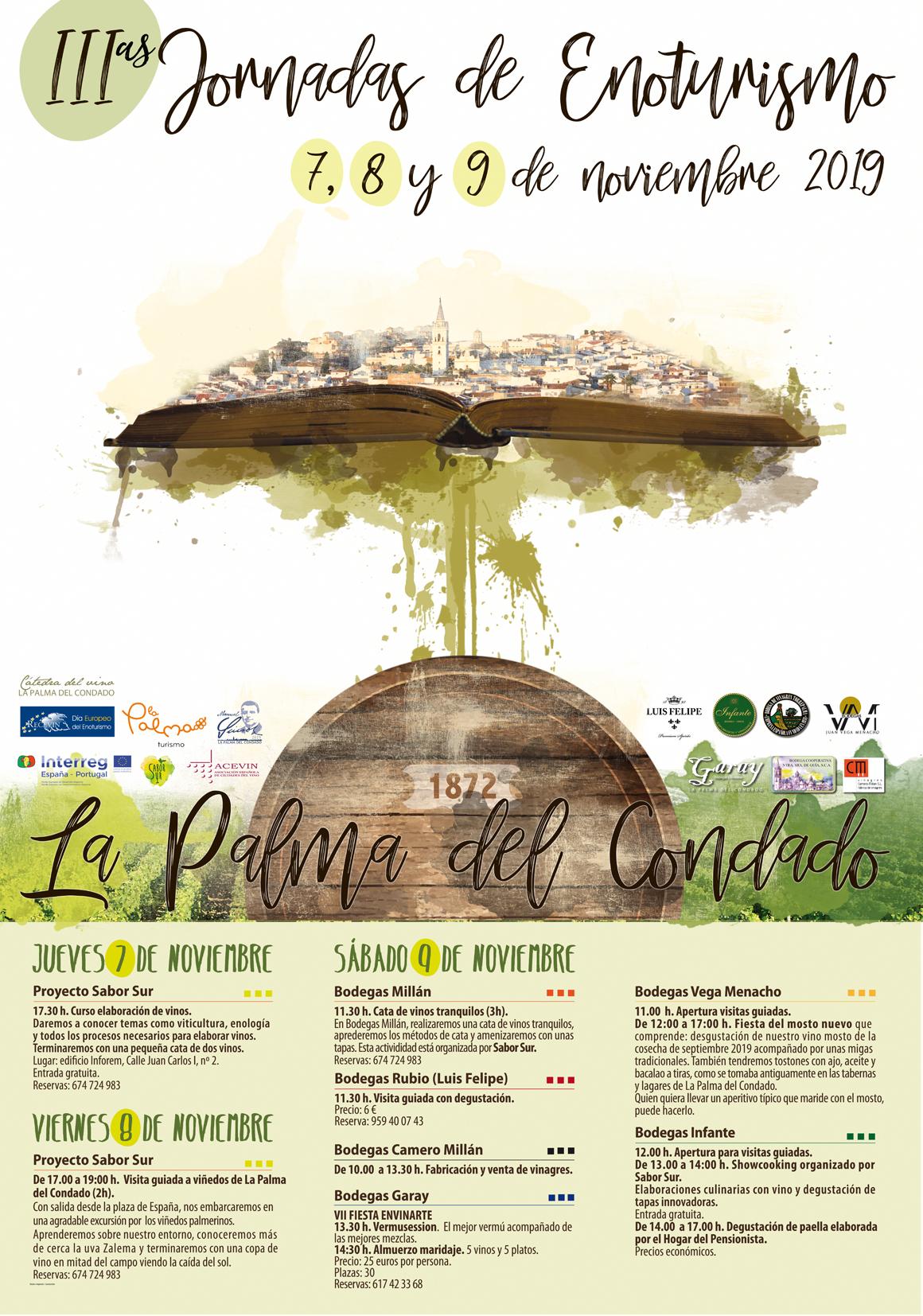 Proyecto Sabor Sur invita a innovar en las III Jornadas de Enoturismo de La Palma del Condado