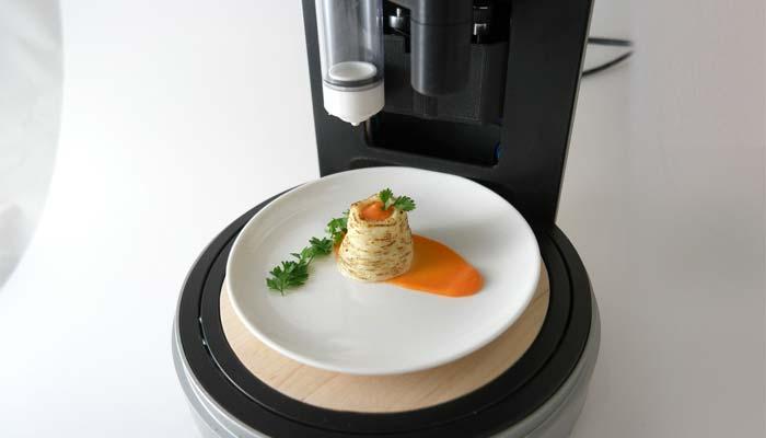 ¿Impresoras 3D de alimentos?